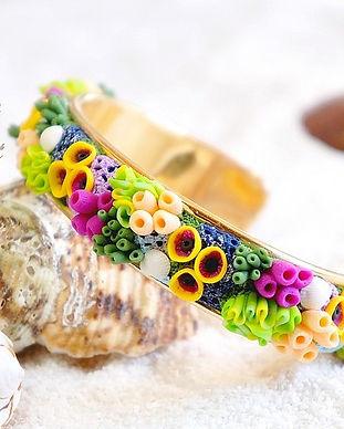 Portfolio Caprice élégant - Coraux en pâte polymère Fimo