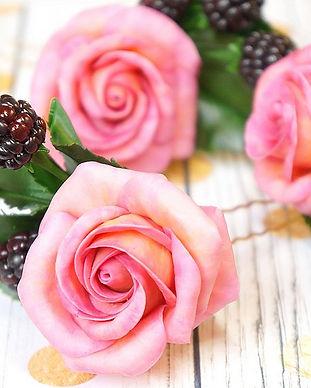 Portfolio Caprice élégant – Flower clay – Fleurs en argile polymère Fimo