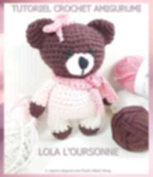 Amigurumi crochet tutoriel PDF - Caprice élégant