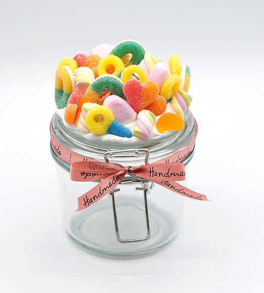 My candy jar - cours fimo - caprice élégant