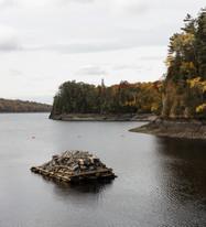 Northward ↟ Ripogenus Lake, ME
