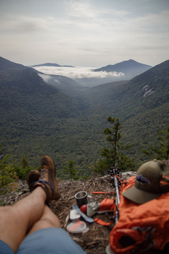 Breakfast on High ↟ Old Speck Mountain, ME