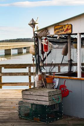 Sprague's Lobster ↟ Wiscasset, ME
