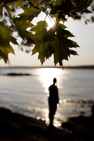 Silhouette ↟ Barters Island, ME