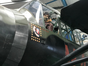 Special Duties Lysander 'lands' at Tangmere