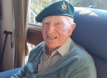 Update on SOE veteran James Edgar's 100th birthday