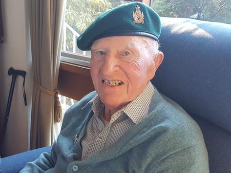 Update on SOE veteran James Edgar's 100th birthday