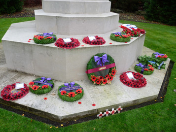 Canadian agents of French Section SOE honoured at Brookwood Military Cemetery, Surrey