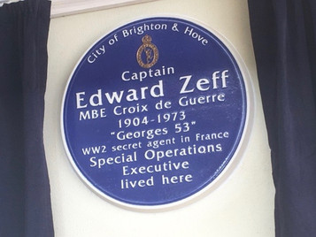 Remembering the SOE wireless operator Capt Edward Zeff MBE, CdeG
