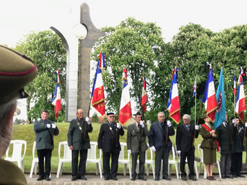 Annual commemoration at the SOE French Section memorial in Valençay
