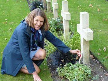 Special visits to Brookwood Military Cemetery and Wanborough Manor