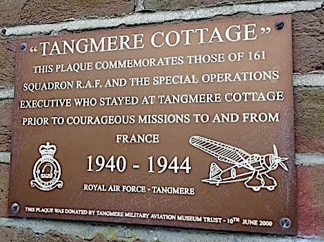 Tangmere Cottage plaque crop 2