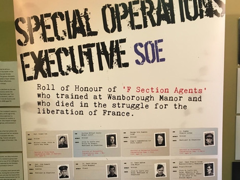 D-Day roles of agents trained in Surrey