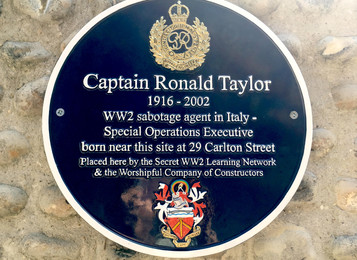 Brighton's Secret Agents: Final plaque unveiled