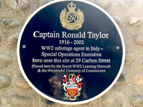 Brighton's Secret Agents: Final plaque unveiled