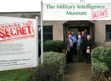 Group visit to the Military Intelligence Museum and the Shuttleworth 'Special Duties' Lysand
