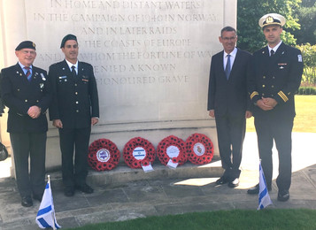 Commemorative ceremony for Jewish SOE personnel