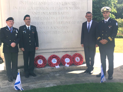 Commemorative ceremony for Jewish SOE personnel