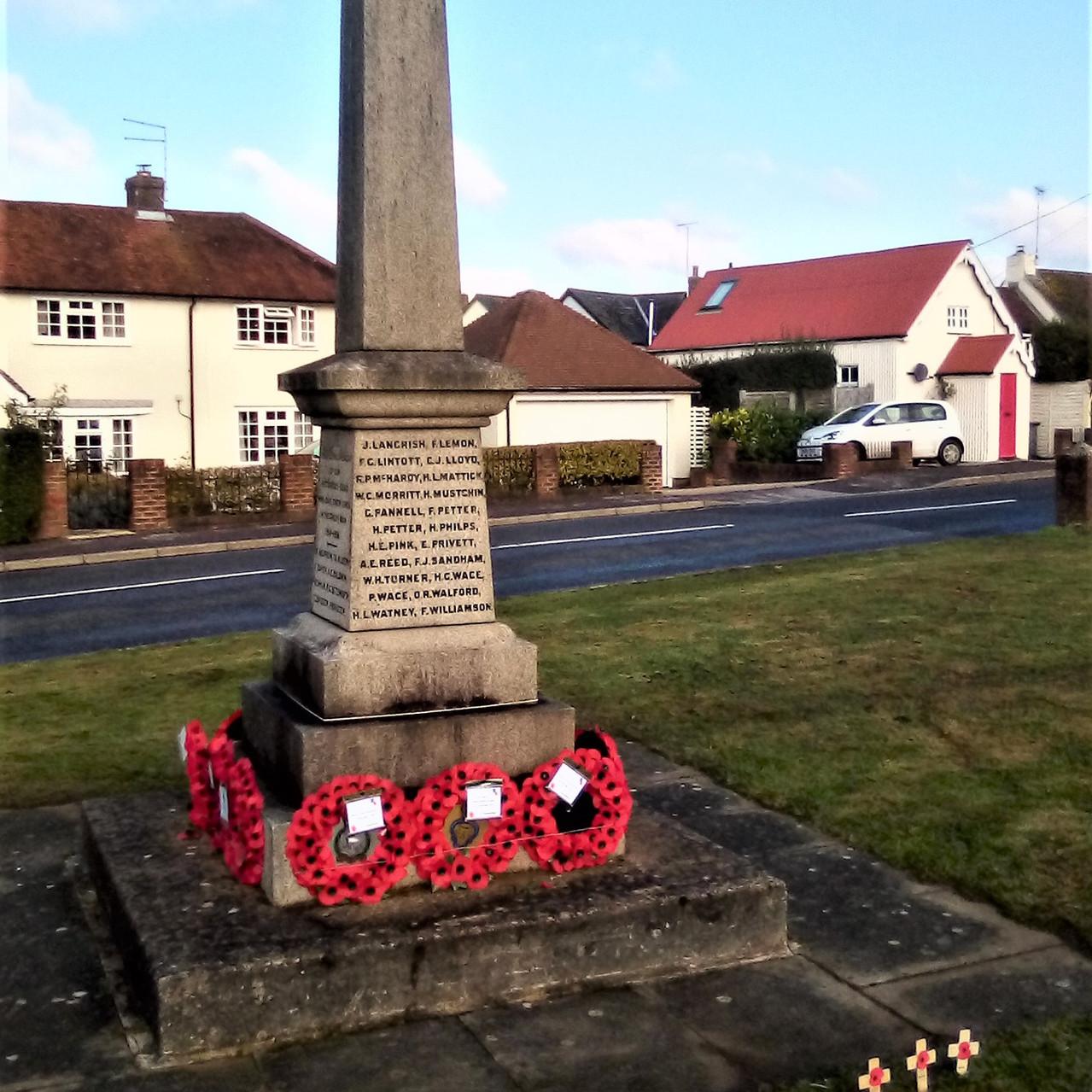 Liss war memorial