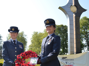 Valençay 2018: Annual ceremony at the SOE French Section memorial