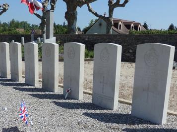 RAF 'special duties' Halifax aircrew remembered at La Ferté-Saint-Cyr