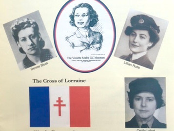 Annual celebration of the life of Violette Szabo GC