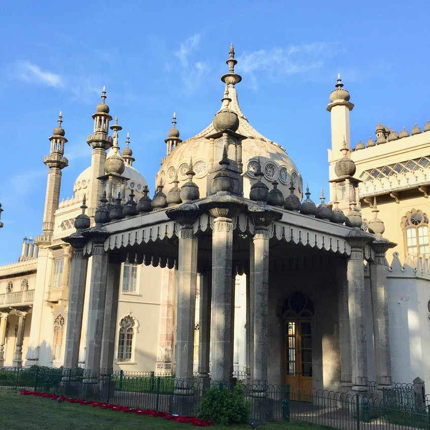 Royal Pavilion entrance