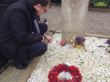 Armistice Day tribute to Operation Aquatint