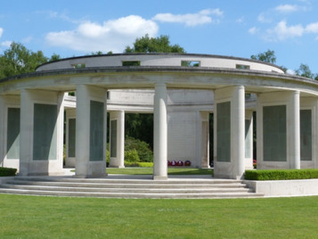 Visit to Brookwood Military Cemetery and Wanborough Manor, Surrey