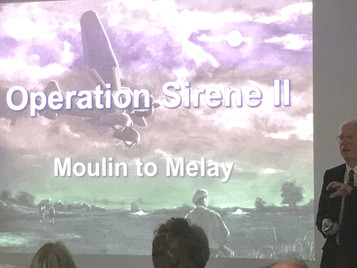 MOULIN TO MELAY:                              aka RESISTANCE BY MOONLIGHT -  75th anniversary event
