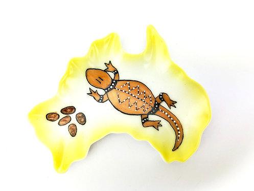 Australia Ceramic Dish - Lizard