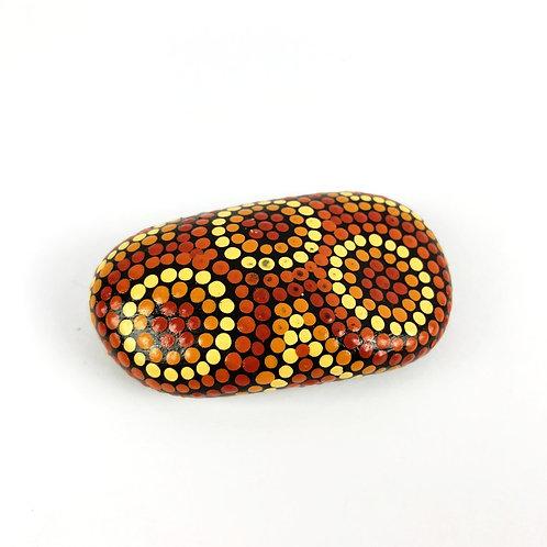 Small Healing Stone- Circle Design