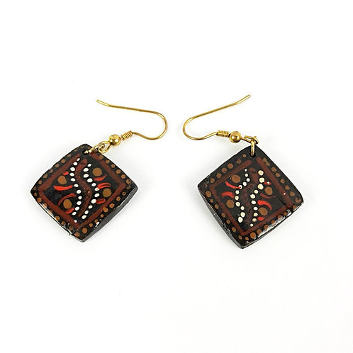 Hand Made & Painted Earrings