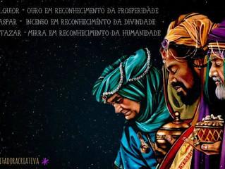 👑✞💎Os Reis Magos em uma Visão Mística👸∞🌟☽☉☾