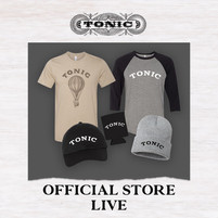At long last, a little bit of TONIC merch!