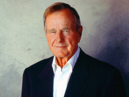 The Nation Says Farewell To Former President Bush 41