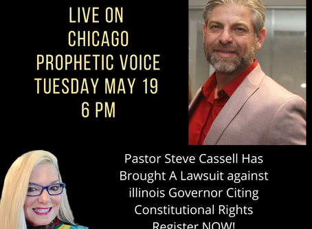 Interview With Steve Cassell The Pastor Suing The Illinois Governor Replay Broadcast