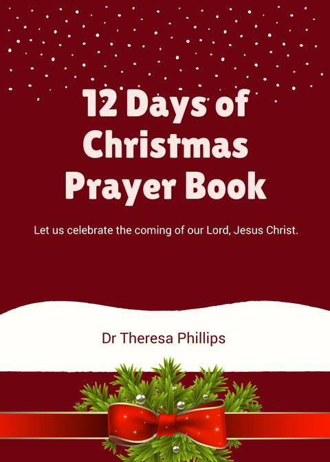 12 Days Of Christmas Prayer Book