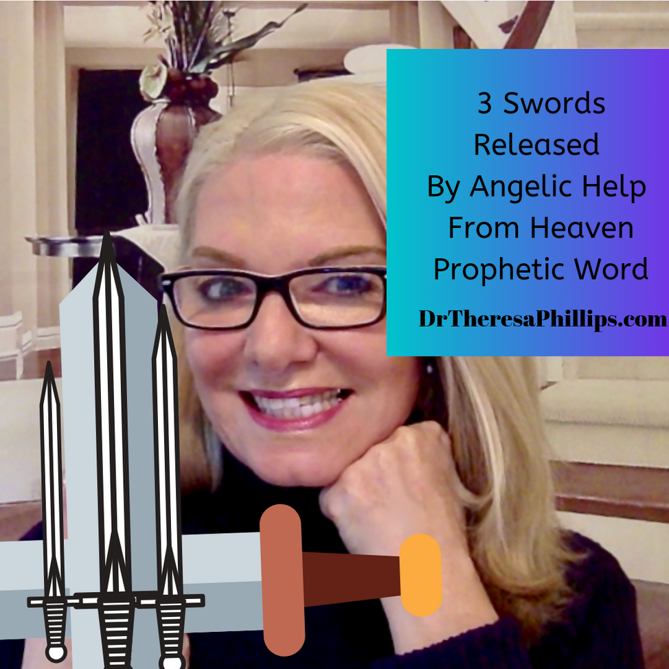 I saw Three Swords Truth Spirit And Justice Dr Theresa Phillips Video
