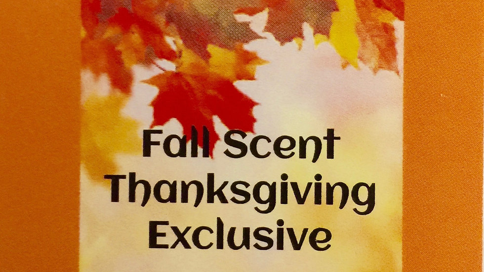 Fall Oil of Thanksgiving Closeout!