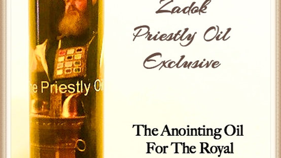 Zadok The Priestly Oil