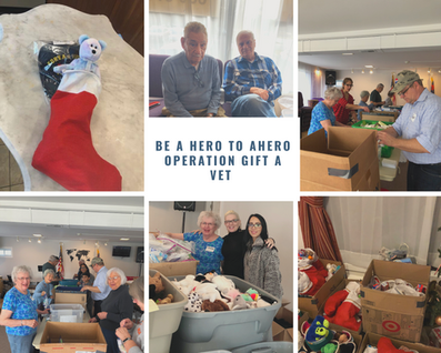 Be A Hero To AHero Operation Gift A Vet.