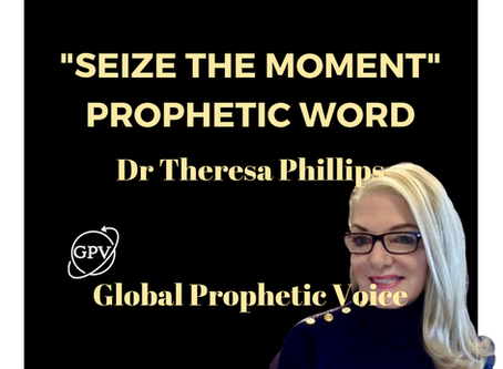 'Seize The Moment Prophecy' Dr Theresa Phillips  (Video)