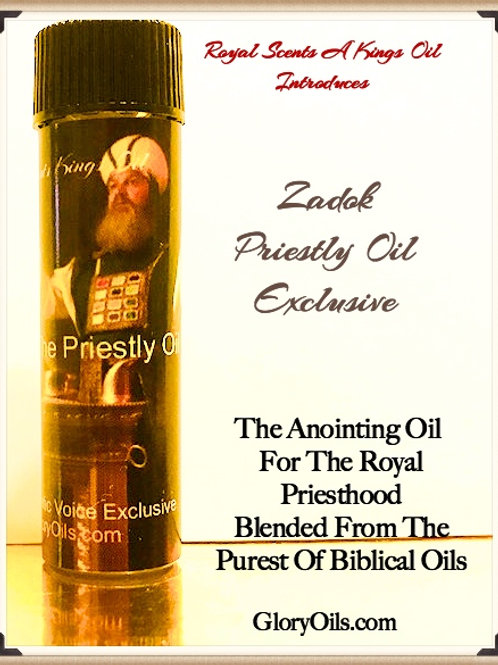 Zadok The Priestly/ KIngly Oil