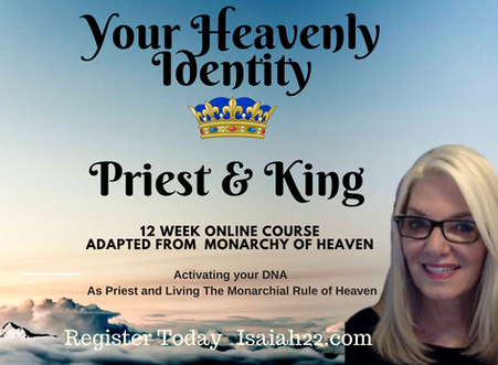 Your  Royal Heavenly Identity FREE BROADCAST