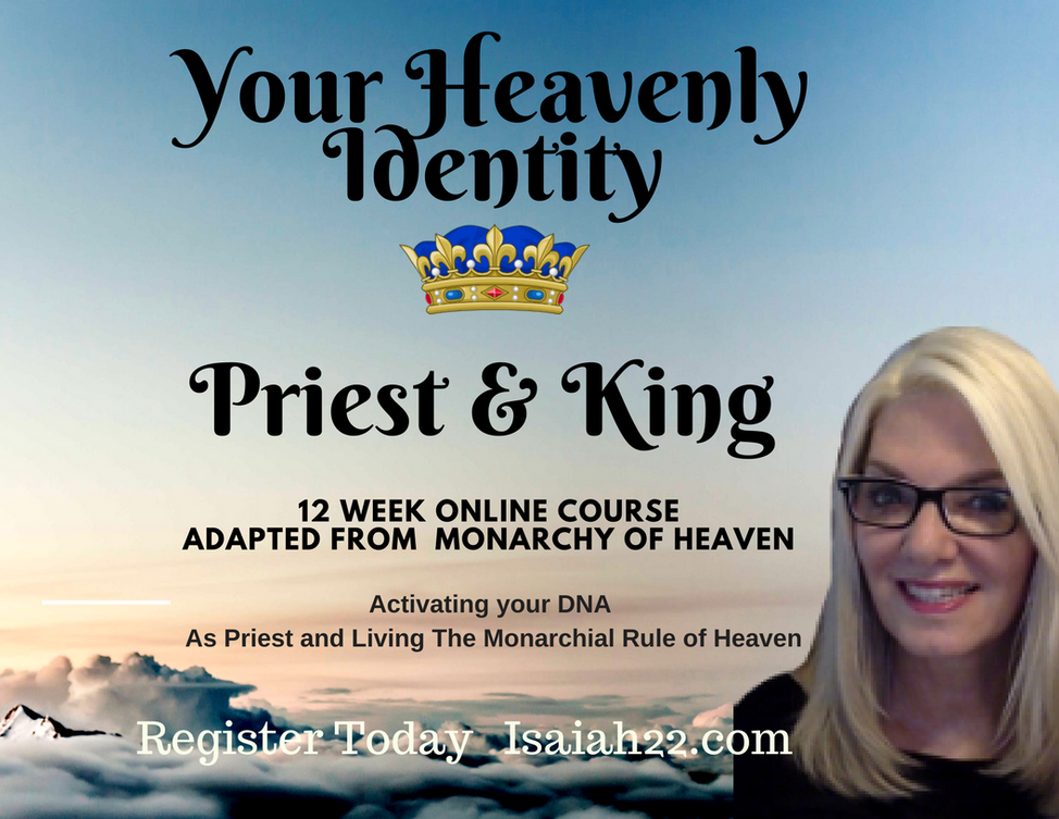 Free Broadcast Feb 15  Your Heavenly Identity Priest & King Theresa Phillips