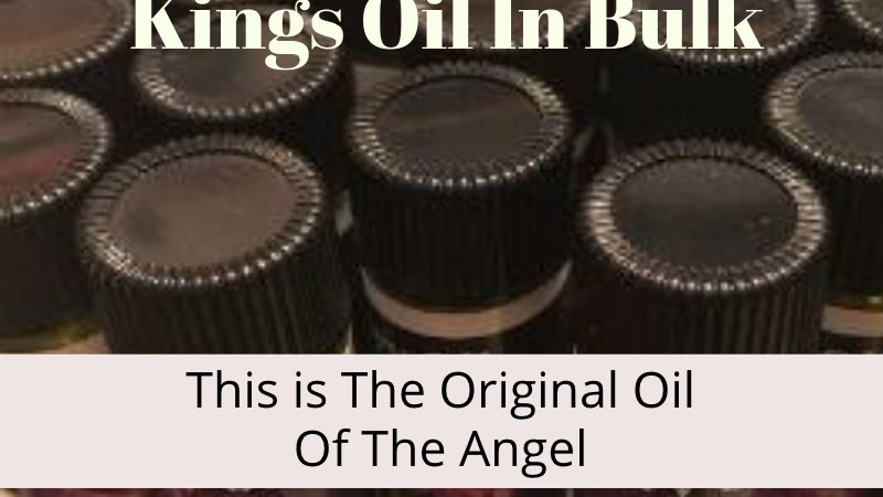 Large Bulk Oil  'Kings Oils""