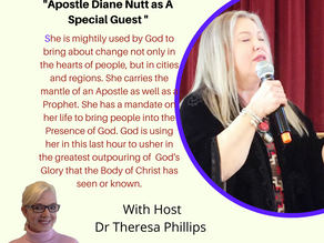 Apostle Diane Nutt Guest On Keys In The Prophetic 10 DEc @ 6 PM CDT