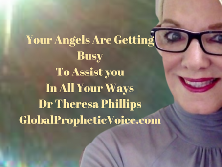 Your Angels Are On Assignment' Dr Theresa Phillips ( Video)