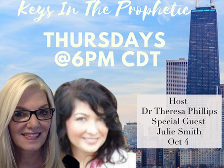"""Keys In The Prophetic New Time Slot"""